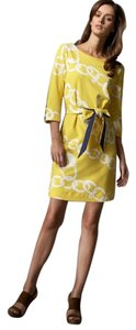 Lilly Pulitzer short dress Yellow Sheath Party Bright on Tradesy