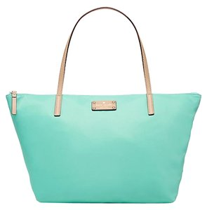 Kate Spade Kennedy Park Medium Nylon New With Tags Tote in Fresh Air