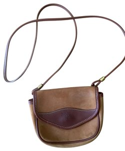 McGuire Nicholas 1932 Nubuck Leather Cross Body Bag