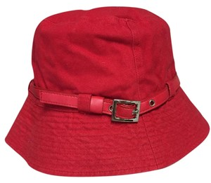 Other OSFM fire engine red bucket hat