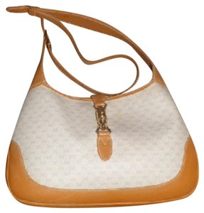 Gucci Jackie O Extender Strap Piston Closure & W Gold Early Style Hobo Bag