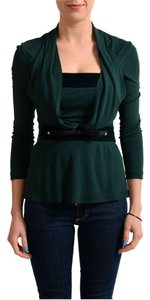 Just Cavalli Top Dark Green