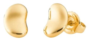 Tiffany & Co. Tiffany Elsa Peretti gold bean earrings