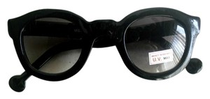 Other Trendy Hipster True Vintage Sunglasses with NYX Lipstick in Plum Combo