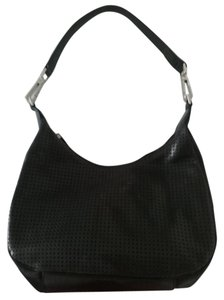 TOSCA BLU Perforated Leather Hobo Bag
