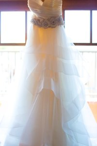 Lazaro Top 3108 Skirt 3413 Wedding Dress