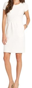 Vineyard Vines short dress Marshmallow Versatile Cotton Off White Nwt New With Tags on Tradesy
