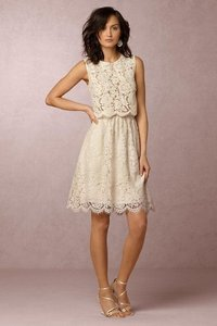 Jenny Yoo Ivory Lydia Skirt And Cleo Top Dress