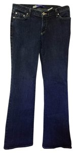 Anchor Blue Boot Cut Jeans-Medium Wash