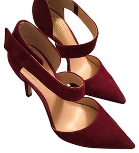 Vince Camuto Suede Burgundy Chianti/burgundy Pumps
