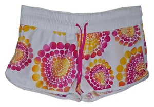 Roxy Shorts Pink/ white multi color