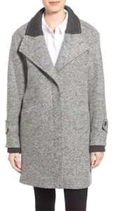 French Connection Boucle Shawl Collar Coat