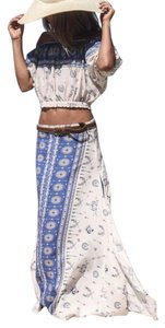 Spell & The Gypsy Collective Bohomenian Boho Festival Designs Maxi Skirt Indigo