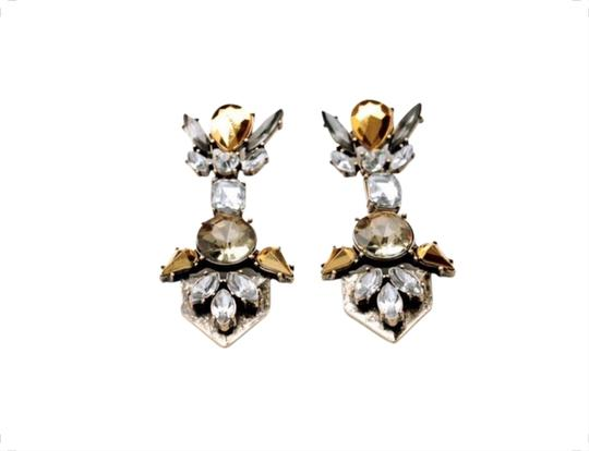 Preload https://img-static.tradesy.com/item/1784289/clear-and-gold-tone-crystal-goldyellow-earrings-0-0-540-540.jpg