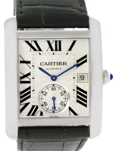 Cartier Cartier Tank MC Automatic Silver Dial Mens Watch W5330003 Unworn