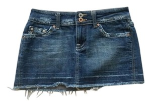 Miss Me Mini Skirt Dark Denim