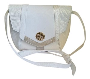 Sharif Gold Satchel in Beige