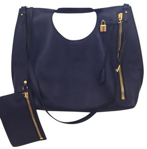 Tom Ford Satchel in Navy Blue