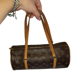 Louis Vuitton Lv Handbag Vintage Monogram Canvas Shoulder Bag