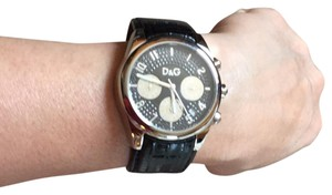 Dolce&Gabbana Dolce & Gabbana Chrono black dial ladies watch