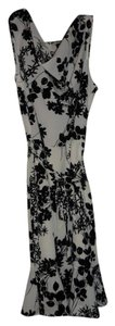 The Limited short dress Black and White Floral on Tradesy