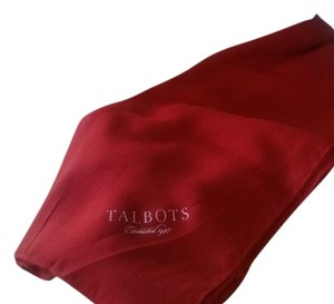 Talbots NEVER USED, TALBOTS RED SCARF/WRAP WITH BOX
