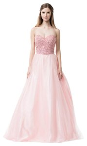 Bicici & Coty Beading Crystal A-line Ball Gown Sr160163 Dress