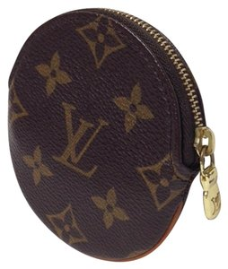 Louis Vuitton Monogram Rond Porte Monnaie Coin Purse