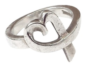 Tiffany & Co. Tiffany & Co. - Sterling Silver Paloma Picasso Heart Ring Sz 6