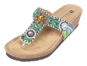 White Mountain Multi Sandals