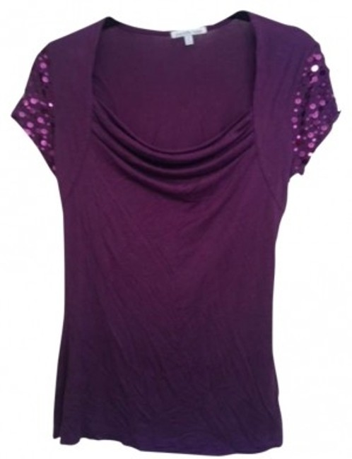 Preload https://img-static.tradesy.com/item/178480/charlotte-russe-purple-professional-work-sequin-casual-blouse-size-6-s-0-0-650-650.jpg