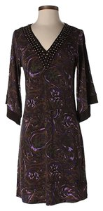 MICHAEL Michael Kors Embellished Print Dress