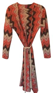 Melissa messe Pink, cream, brown & coral with gold threading Jacket