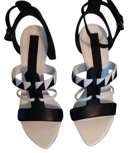 Proenza Schouler Black and White Pumps