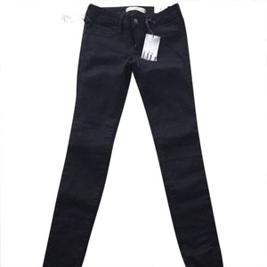 Bullhead Black Jeggings-Dark Rinse