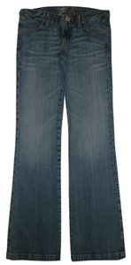Miss Me 4 Pocket Style Zip Fly Cotton/spandex Low Rise Boot Cut Jeans-Medium Wash