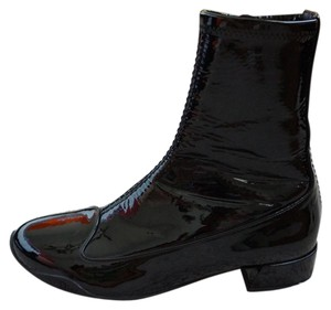 Dior Patent Leather Black Boots