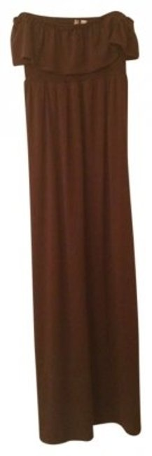 Preload https://item5.tradesy.com/images/6-degrees-brown-strapless-chocolate-long-casual-maxi-dress-size-6-s-178494-0-0.jpg?width=400&height=650