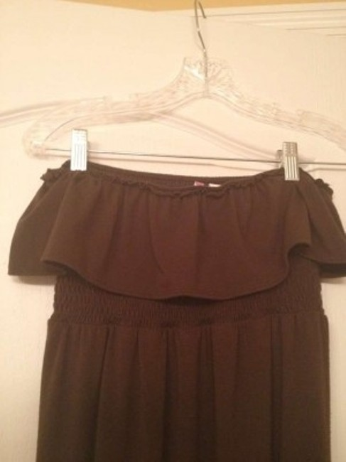 Brown Maxi Dress by 6 Degrees Strapless Maxi Chocolate