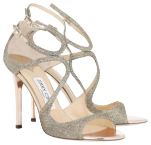 Jimmy Choo Metalic Silver/gold Formal