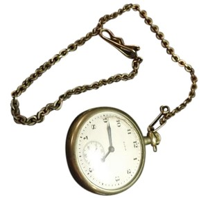 Elgin Antique Elgin Pocket Watch with Swank Fob