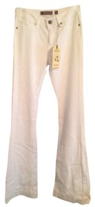 Reuse Flare Pants White