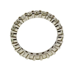 Other 14k Diamond Eternity Band White Gold Sp8742