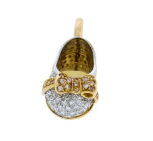 Aaron Basha 18k,2 Tone Gold,diamond,rose Gold,p506