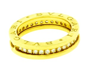 BVLGARI 18k,diamond,yellow Gold,an850561