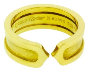 Cartier Cartier C2 ring in 18k Yellow gold size 50 US 5.5 preowned