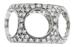 Damiani's 18k,diamond,white Gold,dm903