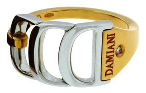 Damiani's 18k Diamond Pink Gold White Gold 389