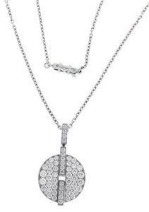 Cartier Cartier Himalia pave Diamond VS - G Women's Necklace Pendant In 18k