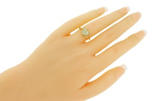 Cartier Cartier pave diamond puffed heart ring in 18k size 5.75